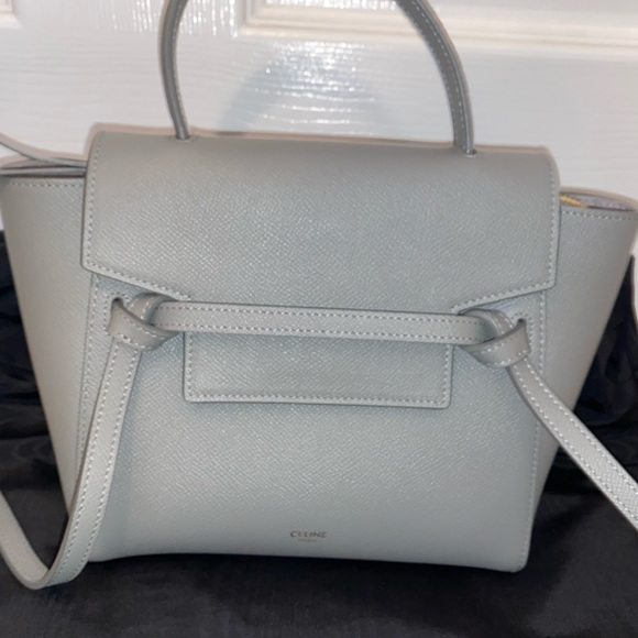 Celine Handbags - NANO BELT BAG IN GRAINED CALFSKIN